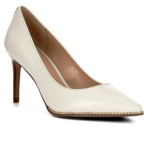 SOLD - Coach Beadchain Pumps - Size 8